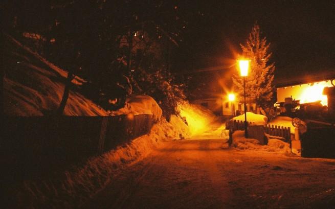 Jedna z ulic w Ladis