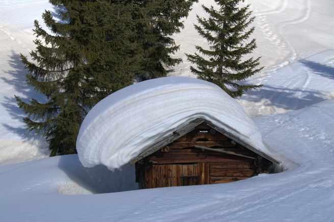 śniegu tu nigdy nie brakuje...