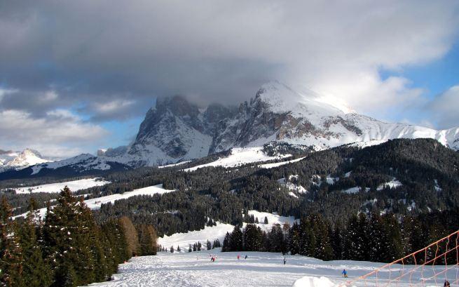 Alpe di Siusi, Saltria