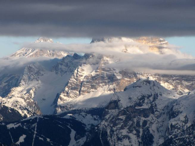 widok z Passo Valles na Mt. Civetta