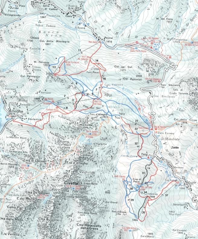 Mapka 12 - Civetta